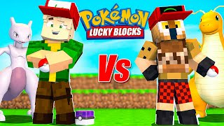 COMBATE POKEMON - FARGAN VS WILLY - Lucky Blocks
