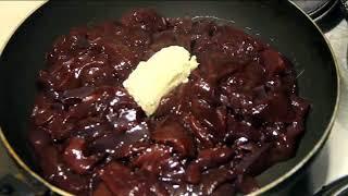 Печень по строгановски ( Самый лучший рецепт )