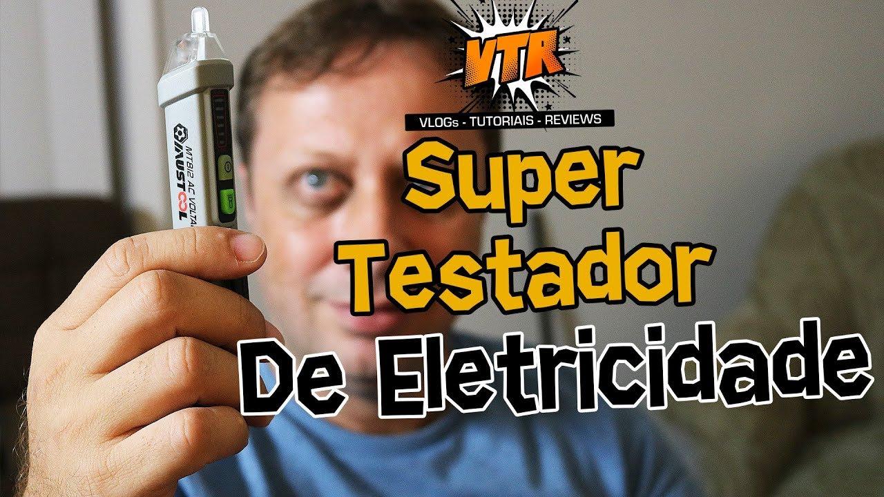 Detector de Tensão ou Voltagem Elétrica