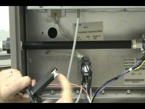 york limit switch. gas furnace limit control.wmv york switch i