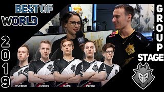 """Perkz: """"Jankos was the one trolling the hardest""""   G2 Highlights   World Group 2019"""