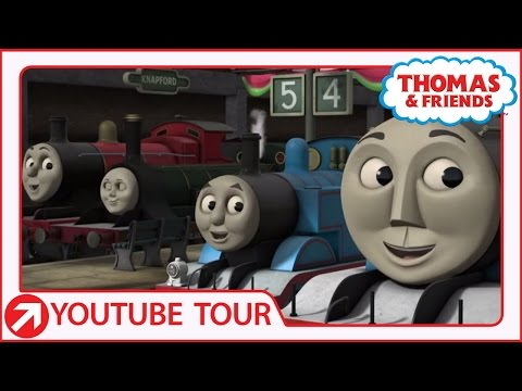 All Aboard for the Friendship Express! | YouTube World Tour | Thomas & Friends