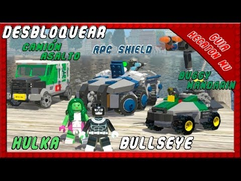 Cars 3 Pelicula Completa En Espanol Latino >> LEGO Marvel Desbloquear a Hulka y Bullseye: Gracias por ver, darle like y comentar.Sigueme en ...