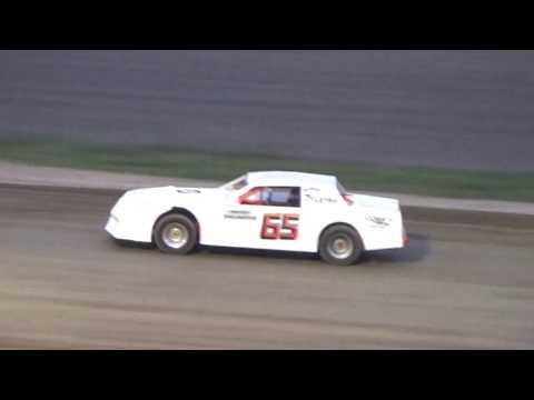 2. Street Stock heat Race #2 at I-96 Speedway on 04-28-17