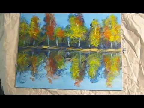 How to Paint with Easy Acrylic Paintings Demo for Beginning  Artists