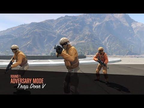GTA 5 Online | New Trap Door Adversary Mode
