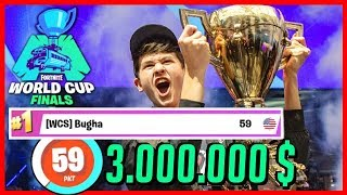 BUGHA... how a tournament changed his life... Fortnite