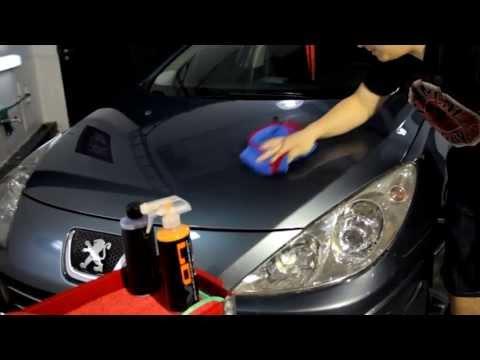 Chemical Guys Black Light + V07 Hybrid -Peugeot 307