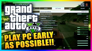 GTA 5 PC - Play Early As Possible, Custom Soundtracks, Director Mode & MORE NEW Features! (GTA V)