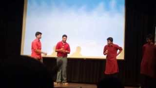 NLU Delhi's First Batch Farewell - Mimicry act by Suhail Mathur, Nipun Saxena, Aditya Singha & Dhruv