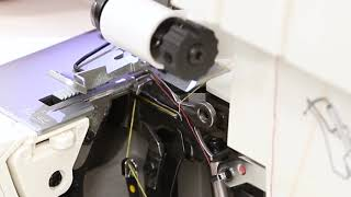 Threading a 4 Thread Serger Overlock Stitch - SING...