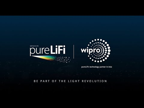 pureLiFi and Wirpo Lighting, LiFi  partnership in Asia