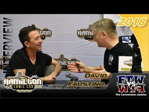 David Faustino  Married with Children, Legend of Korra Hamilton Comic Con 2018