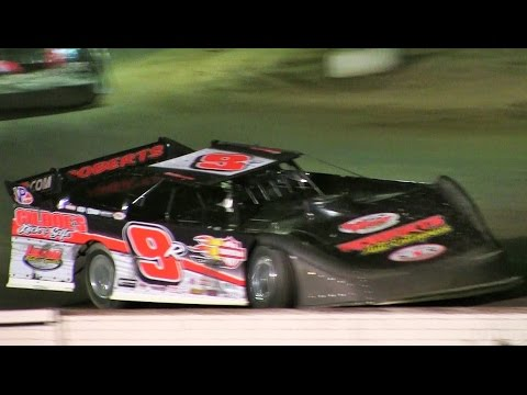 Late Model Feature at Mt Pleasant Speedway on 8-19-16