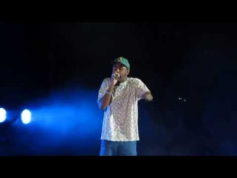 Tyler, The Creator w/ Frank Ocean - She - Live @ Camp Flog Gnaw Odd Future Carnival 11-9-13 in HD
