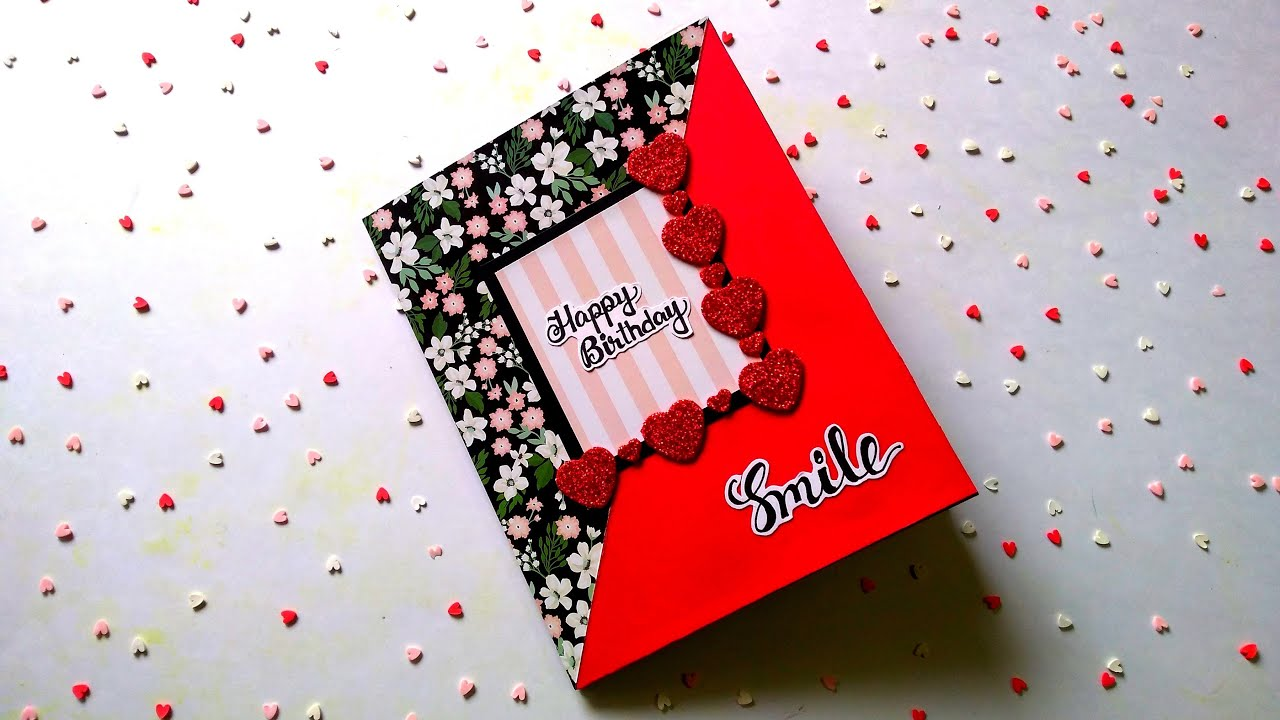 Beautiful Birthday Card | Special Birthday Card | Creative Birthday Card Idea | Tutorial