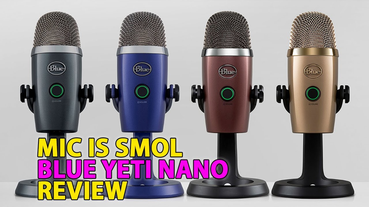 Blue Yeti Nano USB mic review -- it's the real deal