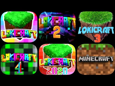 Minecraft VS Lokicraft 1 VS Lokicraft 2 VS Lokicraft 3 VS Lokicraft 4 VS Lokicraft 2020