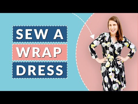 How to sew a wrap dress (inspired by DVF dresses)