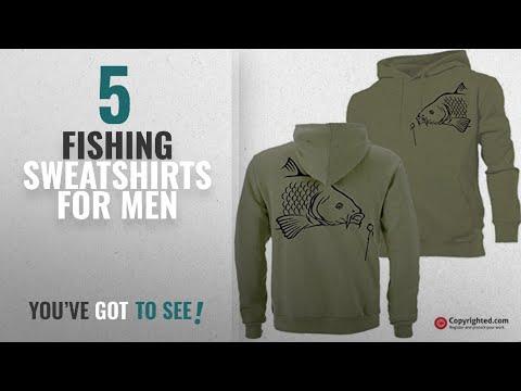 Top 10 Fishing Sweatshirts For Men [2018]: BIG CARP (A) hoodie hunter, fishing, angling ideal