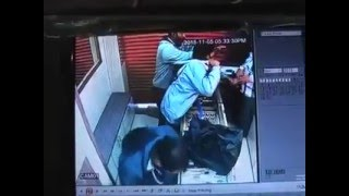 Live robbery collection CCTV Footage