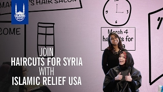Islamic Relief USA - Join Haircuts for Syria to beat Guinness World Record