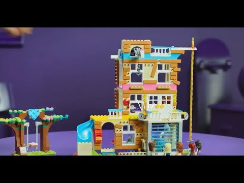 Smyths Toys Lego 41340 Friends Friendship House Youtube