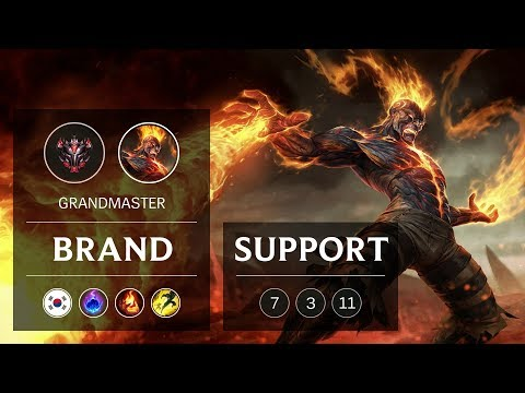 Brand Support vs Zoe - KR Grandmaster Patch 9.3