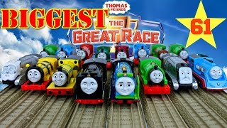 NEW THE BIGGEST! THOMAS AND FRIENDS THE GREAT RACE #61 TRACKMASTER THOMAS THE TANK ENGINE Toy Trains