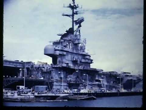 1960s Vietnam War Era? Military US Navy Aircraft,Ships,Carriers Vintage Video Footage (3)