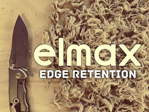 Edge Retention Test: Elmax - Zero Tolerance 0562