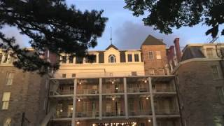 HAUNTING AT THE CRESCENT HOTEL! CAUGHT 4 GHOSTLY FIGURES and AUDIO