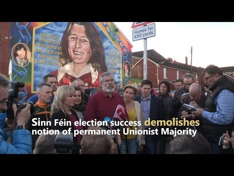 Sinn Féin election success demolishes notion of permanent Unionist Majority  - Adams