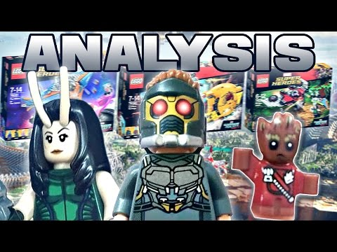 LEGO Marvel : GUARDIANS OF THE GALAXY VOL. 2 SETS - ANALYSIS!