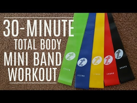30-Minute Total Body Mini Band Workout | MFit