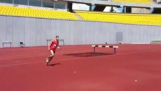 Прыжок в высоту 2,10 м / High Jump
