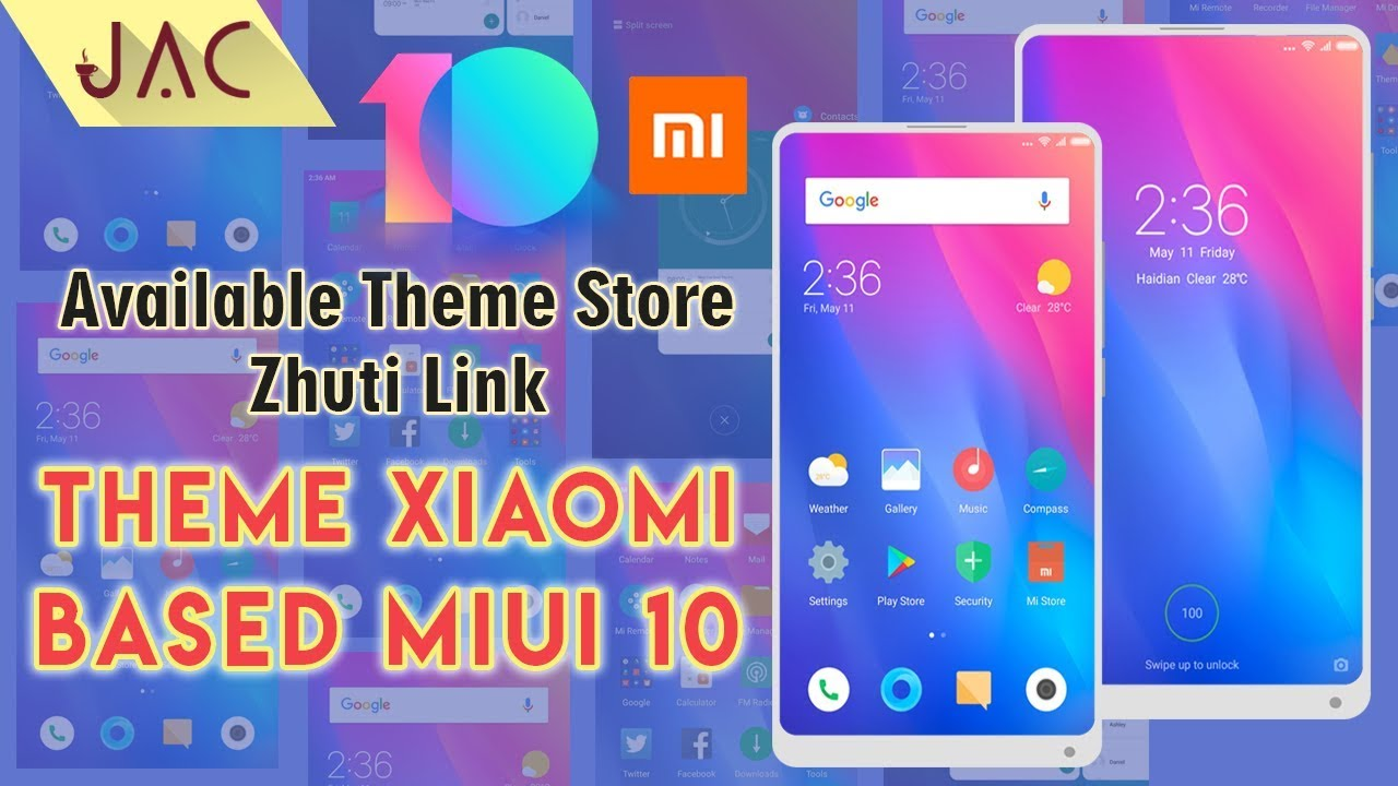Theme Xiaomi Based MIUI 10 Perfect TT Mtz | DOWNLOAD NOW ! [JAC Art Code]