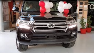 Toyota Land Cruiser V8 2016| In-depth complete Review