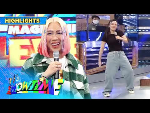 Vice Ganda mentions Ate Girl Jacque's Hip-hop outfit | It's Showtime