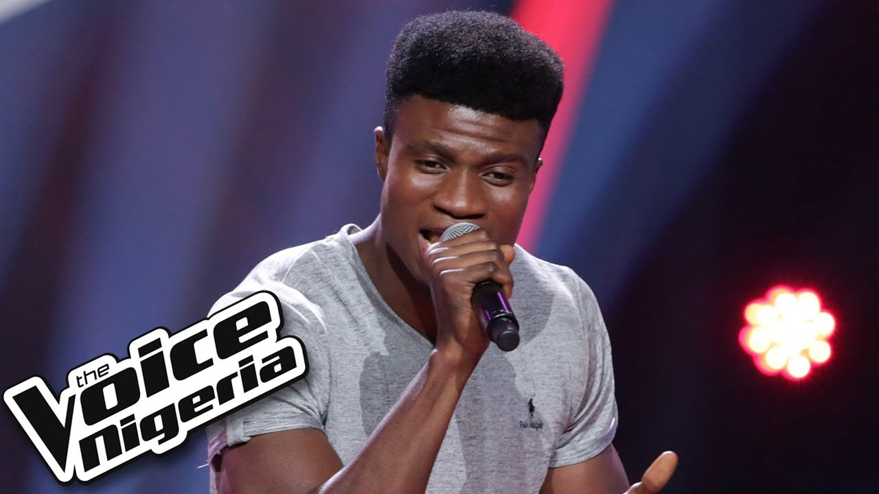"""Download Isaac Aloma sings """"Okay"""" / Blind Auditions / The Voice Nigeria Season 2"""
