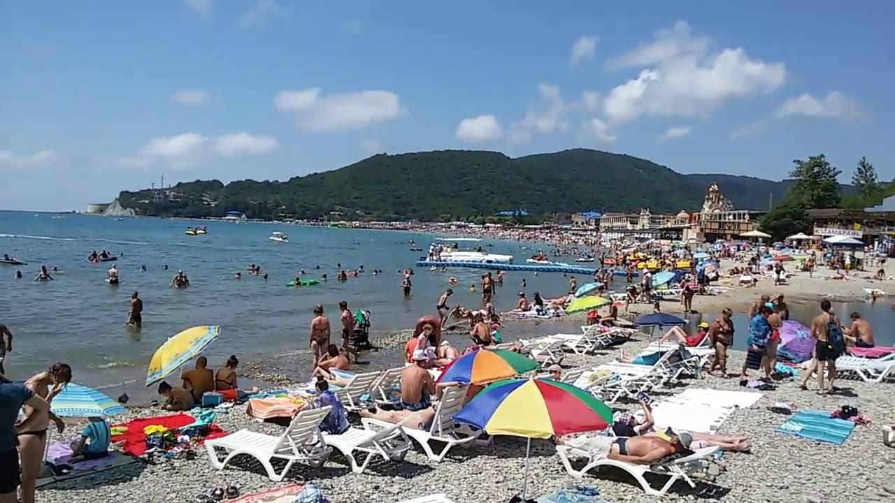 Пляжи в архипо-осиповка фото