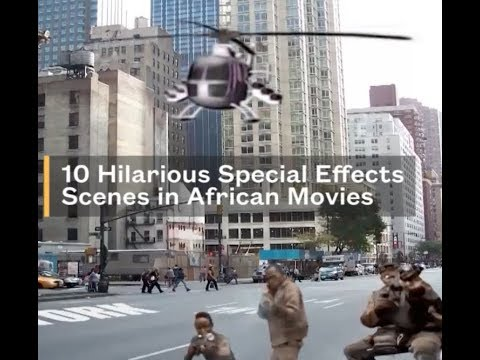 10 Hilarious Special Effects Scenes in African Movies