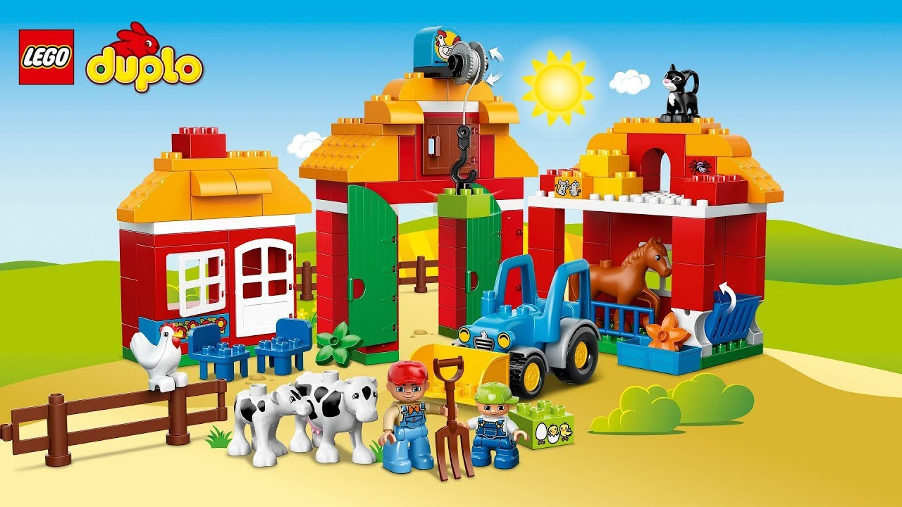 Building Lego Duplo Farm 10525 Bricks Building Blocks For