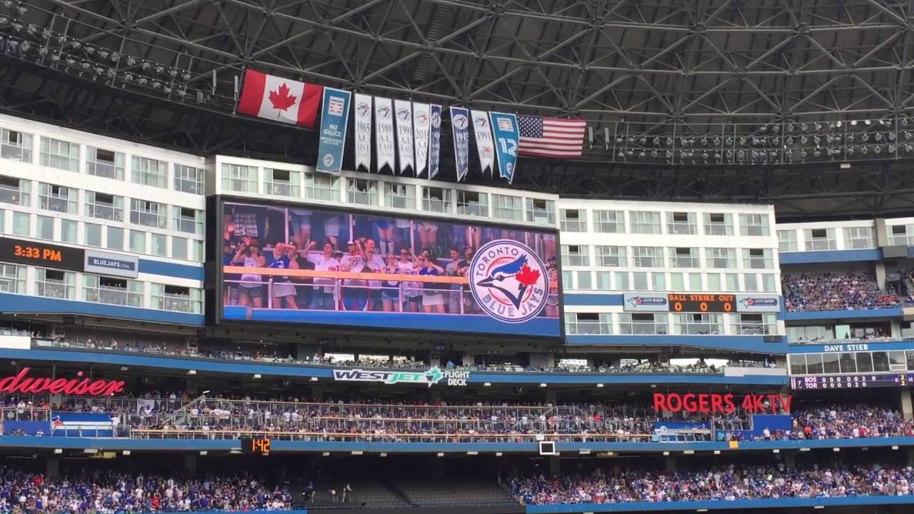 Toronto Blue Jays 7th Inning Stretch OK Blue Jays Rogers ...