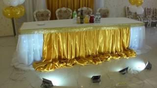 Оформление свадьбы Владивосток золотая свадьба в кафе