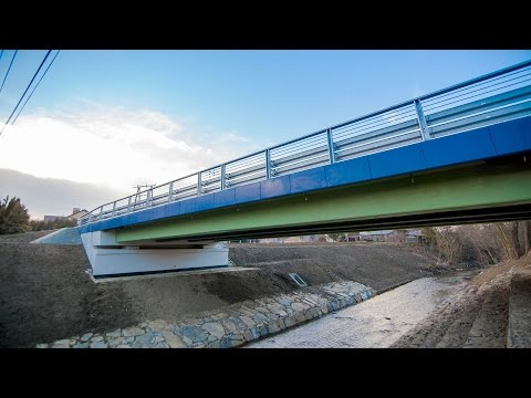 Com-bridge - construction of a bridge made of FRP composites