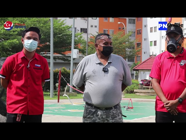 SEKRETARIAT Covid-19 Johor PPR Melana