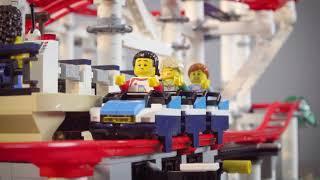LEGO Creator Expert Roller Coaster (Set #10261) Video 1