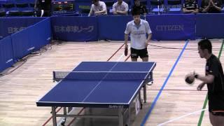 TableTennis 田勢邦史 VS 並木佑介 日本卓球2011-625