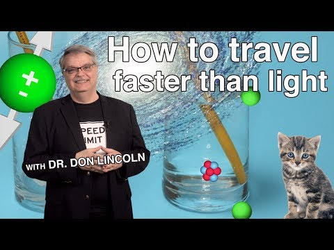 How to travel faster than light